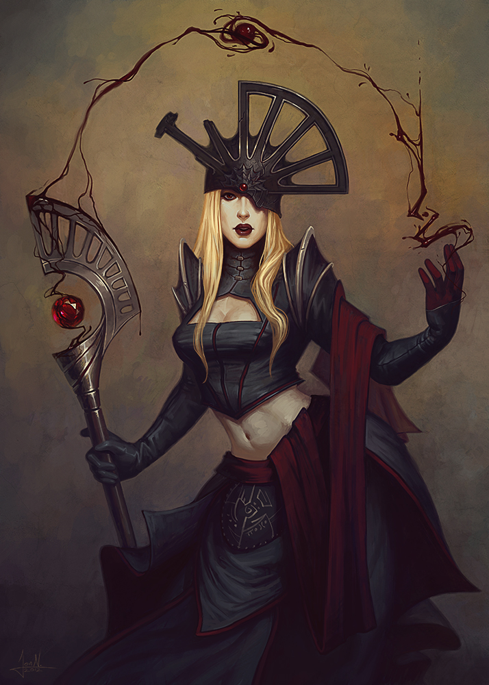 Lady Sanguine by Andantonius