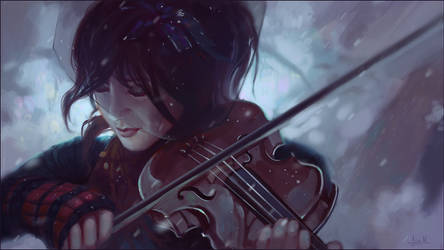 Lindsey Stirling by Andantonius