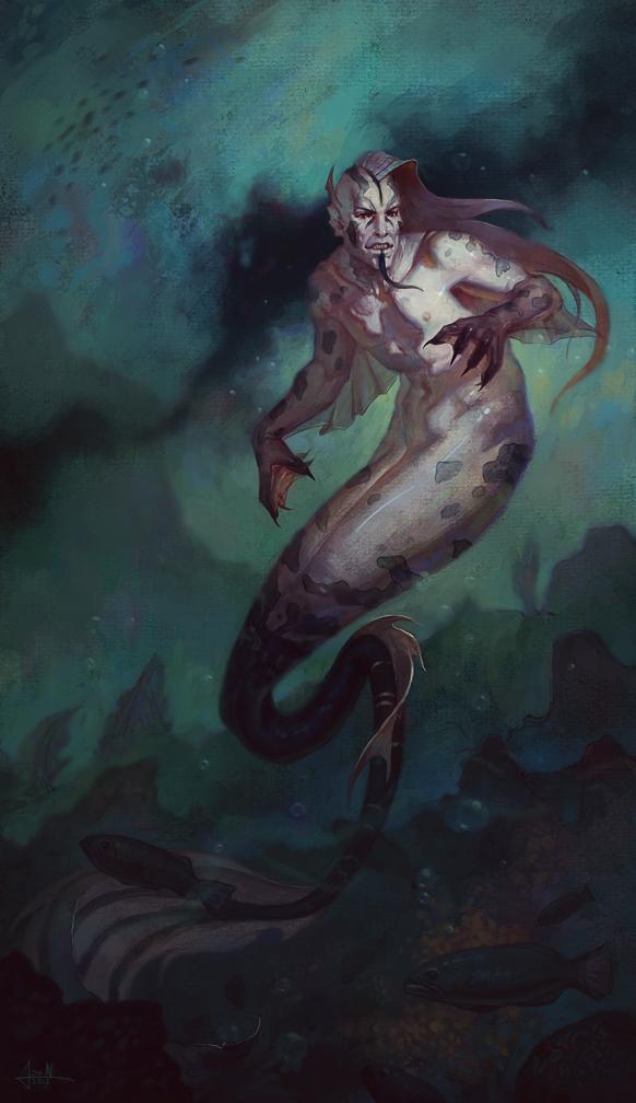 Beneath The Waves by Andantonius