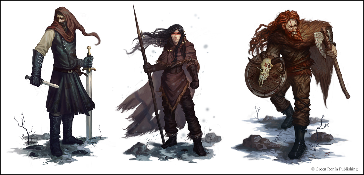 Night's Watch Characters by Andantonius