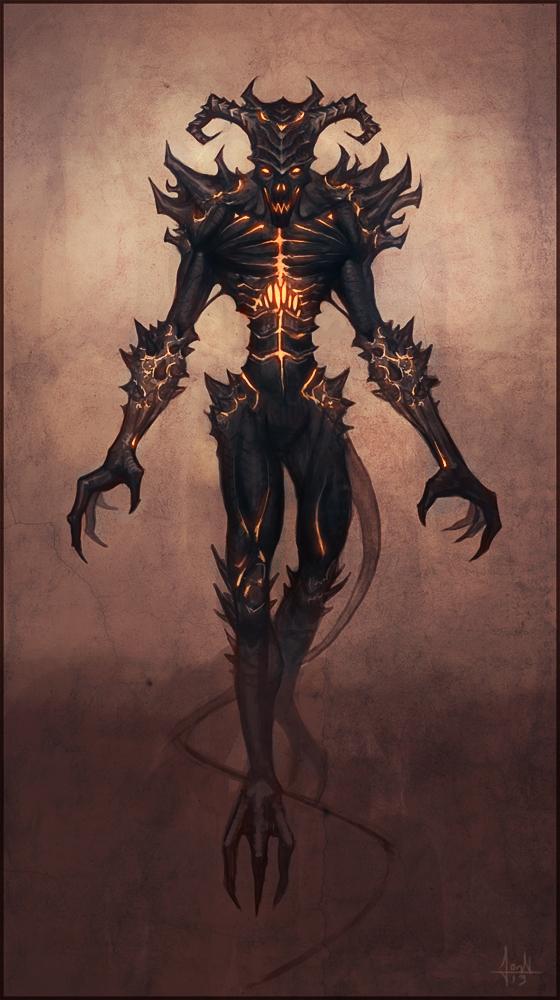 Demon by Andantonius
