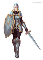 Wayward Crusader by Andantonius