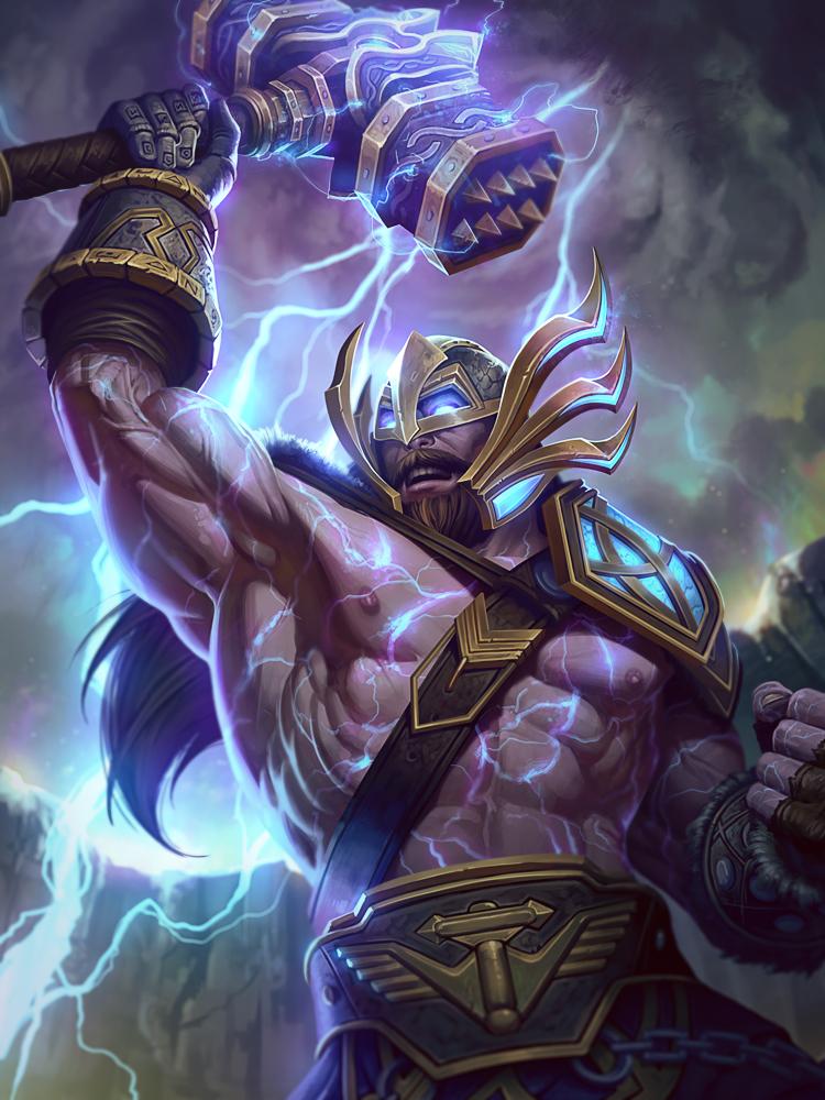 Thor Wrath of Valhalla by Andantonius