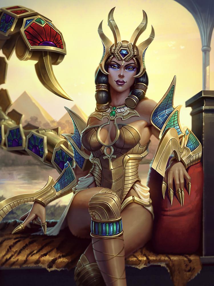 Desert Queen Serqet by Andantonius