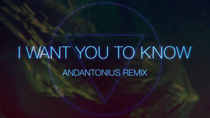 I Want You To Know - Remix
