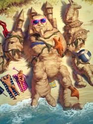 Geb - Life's a Beach by Andantonius
