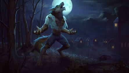 Fenrir Wolfman by Andantonius