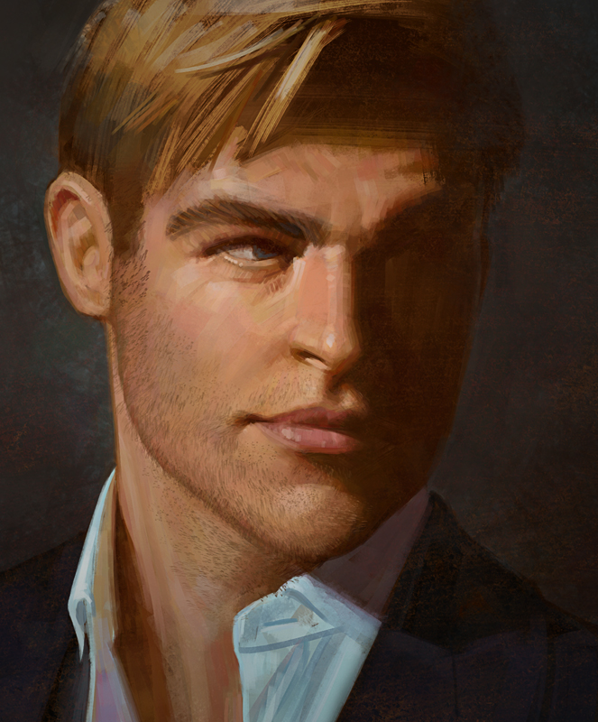 Chris Pine by Andantonius