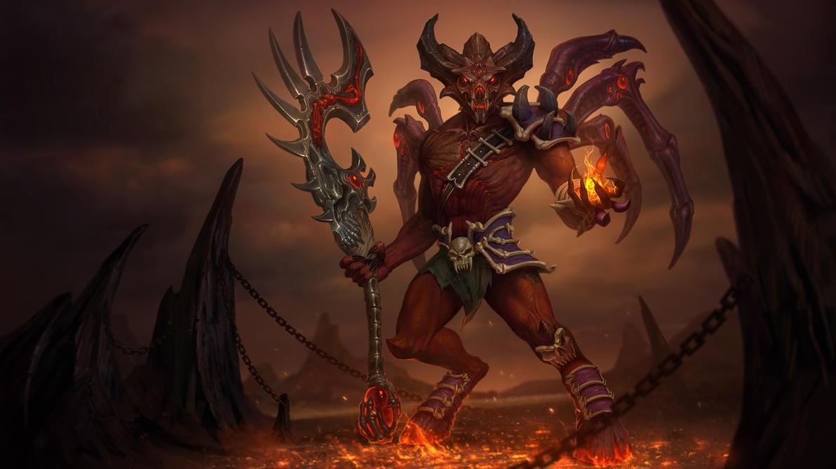 Demonic Pact Anubis by Andantonius