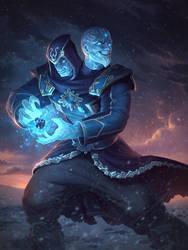 Ice Mage Agni by Andantonius