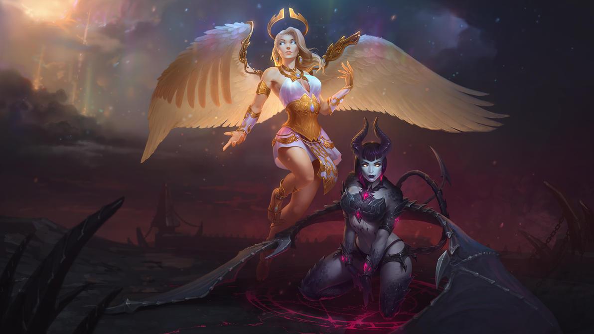 Inner Demon Hel by Andantonius