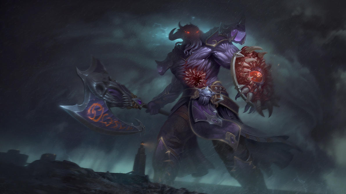 Abyssal Executioner Chaac by Andantonius