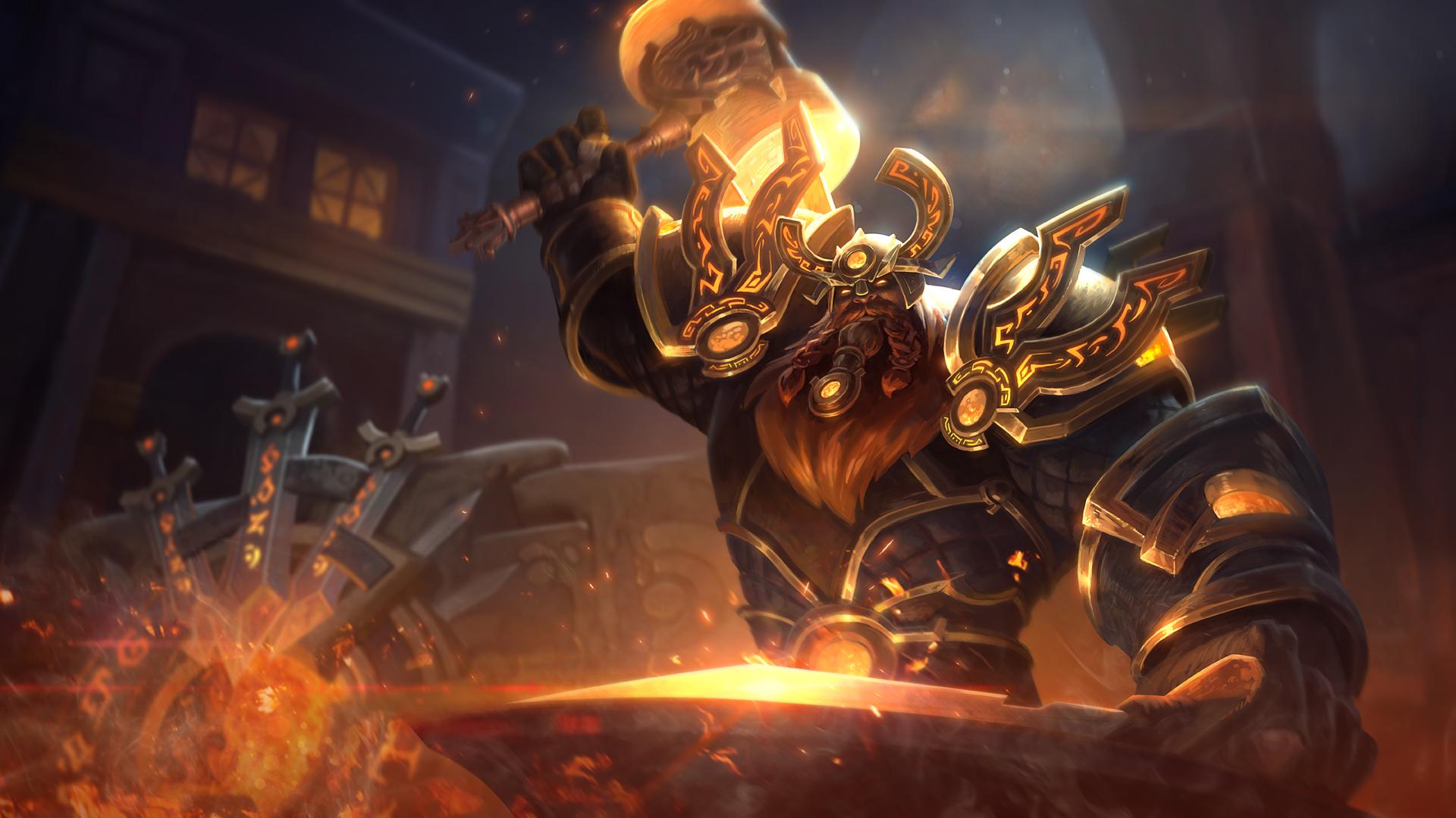 Titan Forge Ymir by Andantonius