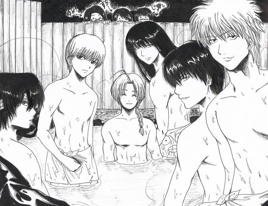 Gintoki And Tsukuyo Fanfiction kissing Gintama fanarts