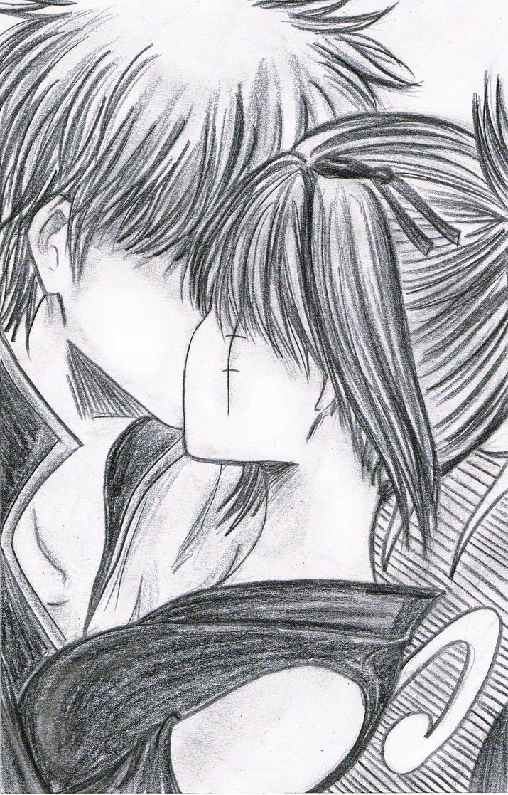 Gintoki And Tsukuyo Fanfiction Gintoki and Tsukuyo Kiss