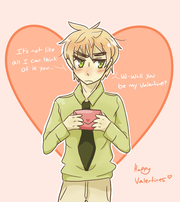 W-will you be my Valentine..? by WinterSeasons