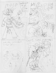 Preview of Mash Stache page 3 of issue 2 by SnD-Frostey