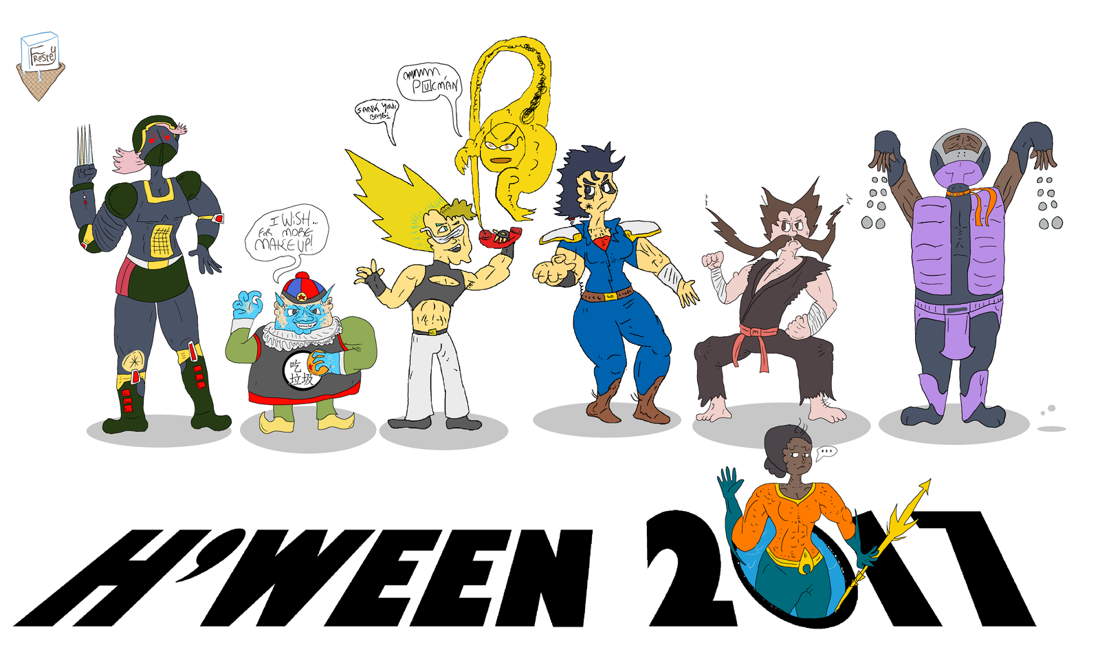 H'ween 2017 by SnD-Frostey