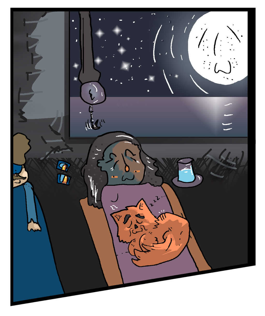 One Last Night (Landlubber comic panel sample) by SnD-Frostey