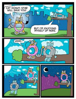 Cat Donut - Tree