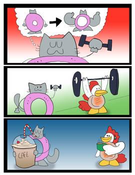 Cat Donut - Lift