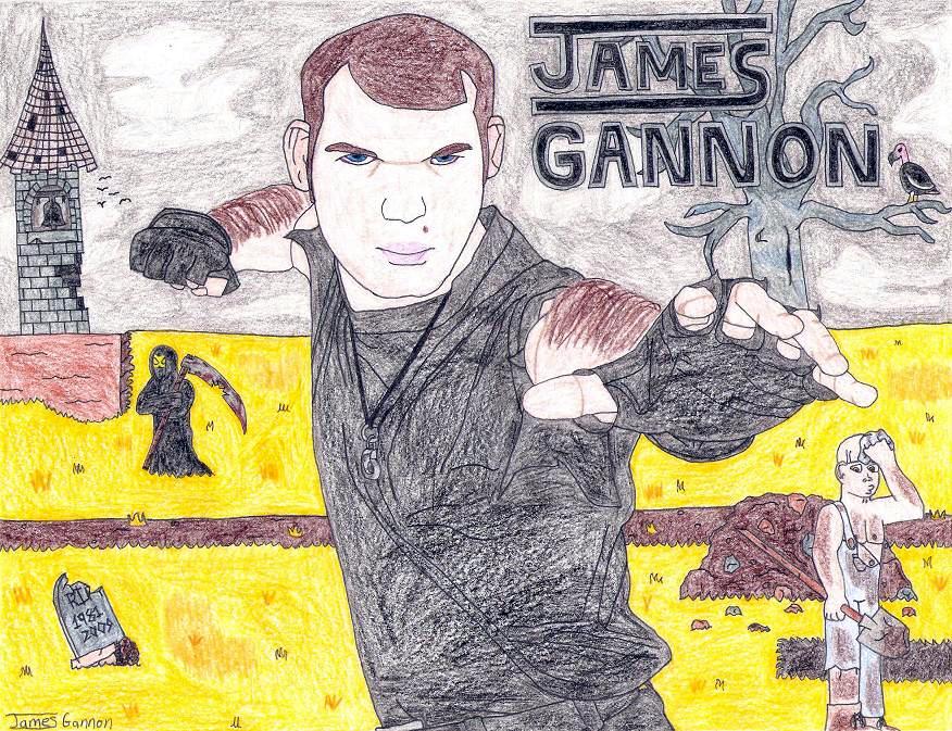 Self Portrait: 2009 by jamesgannon