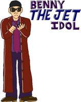 USWF: Benny The Jet Idol by jamesgannon