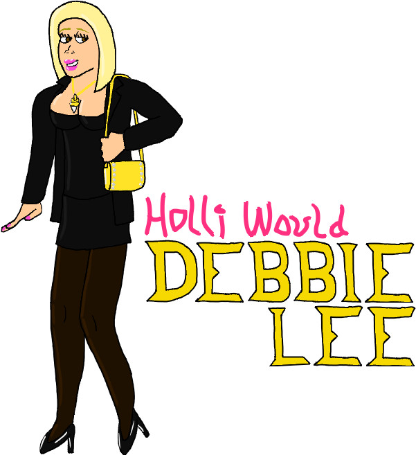 Debbie Lee: Blonde Dream by jamesgannon