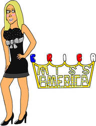 USWF: Erica Miss America by jamesgannon