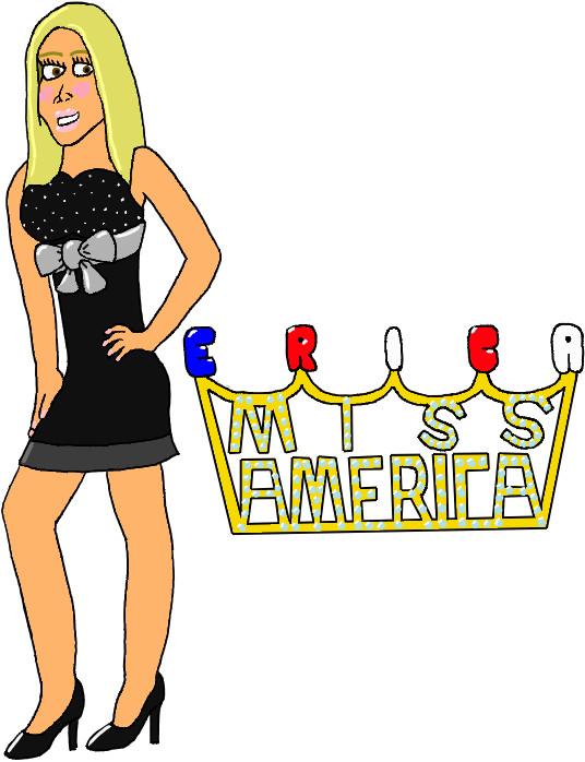 USWF: Erica Miss America by jamesgannon