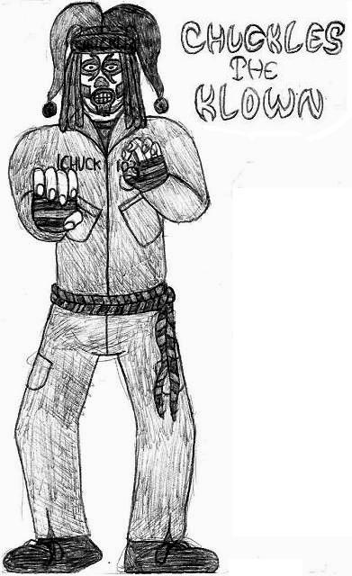 Chuckles the Klown: Break Time Sketch by jamesgannon