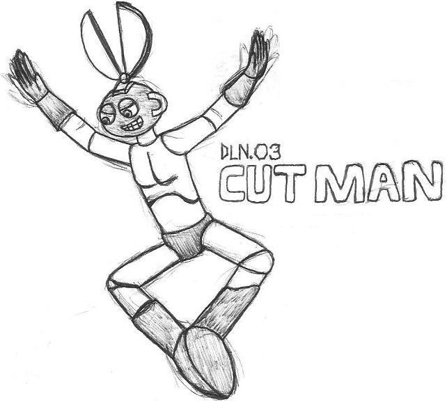 Cut Man- Break Time Sketch by jamesgannon