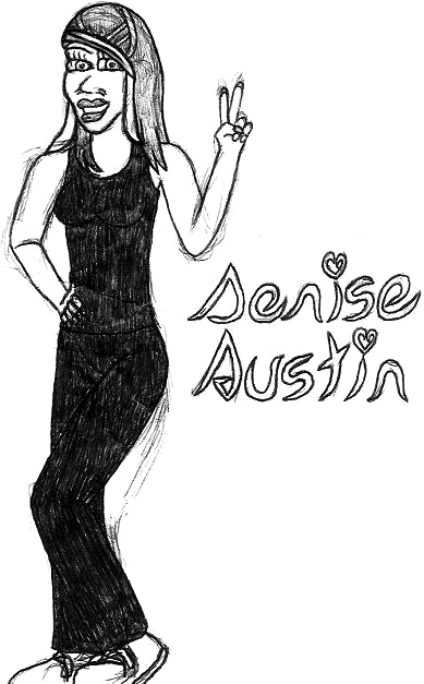 Denise Austin- Break Time Sketch by jamesgannon