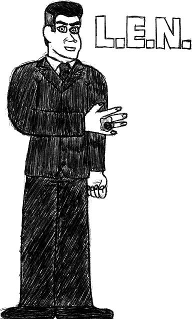 L.E.N.- Break Time Sketches by jamesgannon