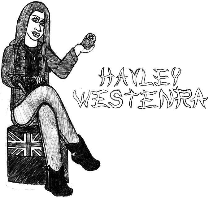 Hayley Westenra- Break Time Sketches by jamesgannon