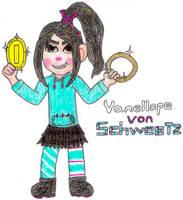 Vanellope Von Schweetz- Break Time Sketches by jamesgannon