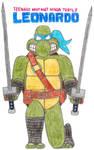 Leonardo- Break Time Art #106 by jamesgannon17