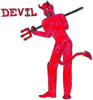 Devil- Break Time Sketches by jamesgannon