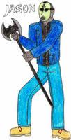 Jason- Break Time Sketches by jamesgannon