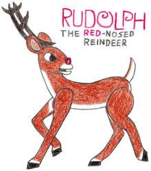 Rudolph- Break Time Sketches by jamesgannon