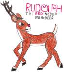 Rudolph- Break Time Art #121