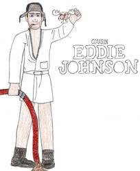 Cousin Eddie- Break Time Sketches by jamesgannon