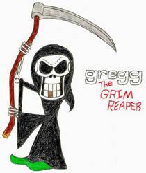 Gregg The Grim Reaper- Break Time Art