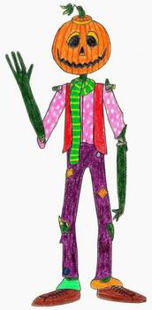 Jack Pumpkinhead- Break Time Art #162