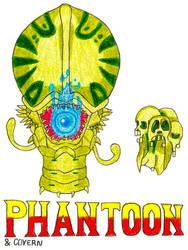 Phantoon and Covern- Break Time Art #164
