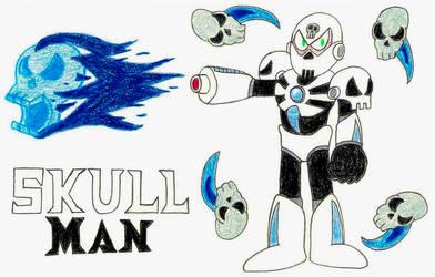 Skull Man- Break Time Art #166