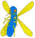 The Big Blue Bug- Break Time Art #196