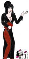 Elvira and Gonk- Break Time Art #210