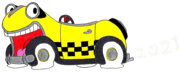 Benny The Cab- Break Time Art #220