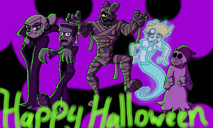 Happy Halloween from Elementals Next-Gen!